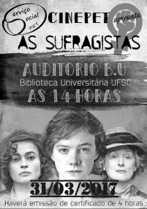 CinePet Debate: 'As Sufragistas'